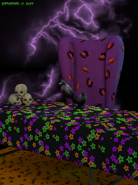 Iray Halloween Fabric Shaders And Seamless Tile Merchant Resource
