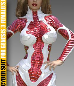Cyber Suit for G3 female(s) - Extended License