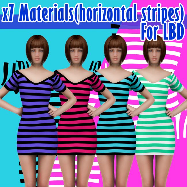 X7 Materials (horizontal stripes) For LBD by outoftouch