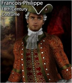 Francois-Philippe M4 18th Century Costume