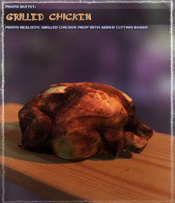 Photo Buffet: Grilled Chicken