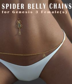 Spider-BellyChain Accesories for G3