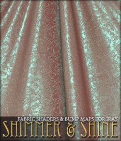 SV's Shimmer and Shine Iray Fabrics