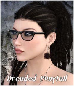 Dreaded Ponytail Hair G2F & V4