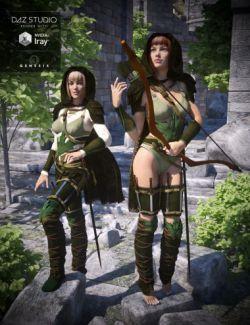 Fantasy Ranger for Genesis 3 Female(s)