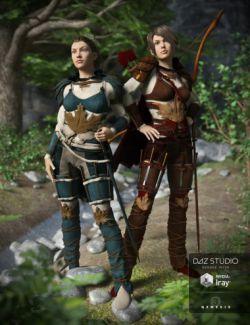 Fantasy Ranger Wild Woods Textures