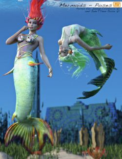 Laguna: Mermaids- Poses for Indigo/Victoria 7 and Jade/Teen Josie 7