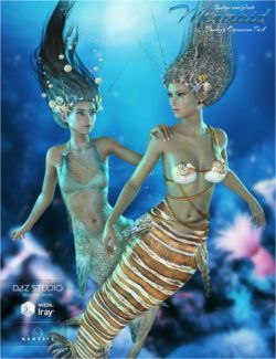 Laguna-Mermaid Fantasy Pack for Genesis 3 Female(s)