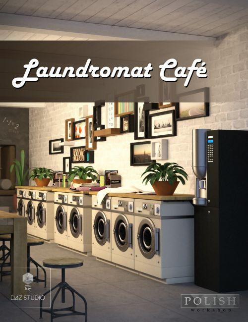 Laundromat Cafe 3d Models For Poser And Daz Studio