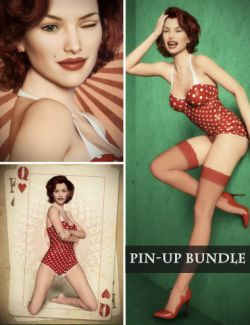 Pin-up Backgrounds, Poses and Expressions