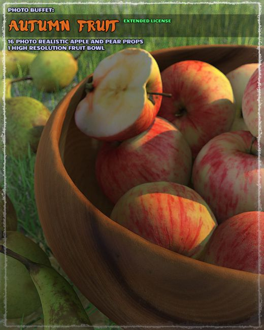Photo Buffet: Autumn Fruit - Extended Licence