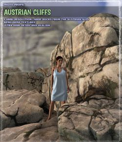 Photo Props: Austrian Cliffs
