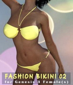 Fashion Bikini 02 for G3F