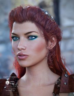 Frawn Hair for Genesis 3 Female(s)