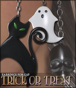 Trick or Treat Earrings G3F