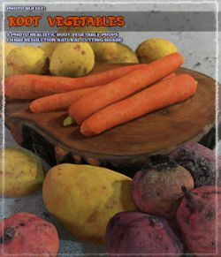 Photo Buffet: Root Vegetables