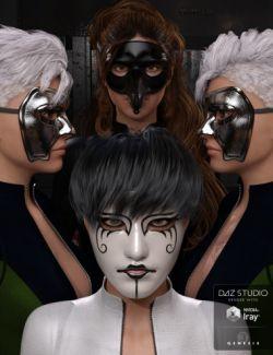 Amazing Masks - Iray Genesis 3 Female(s)
