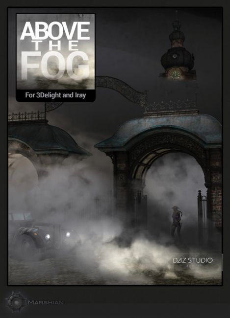 Above the Fog for Iray and 3Delight