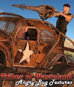 Tribes of Wasteland- Angry Bug Textures