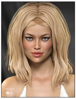 Venice Hair for Genesis 3 Female(s), Genesis 2 Female(s) and Victoria 4