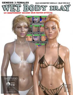 Genesis 3 Female(s) Wet Body Iray