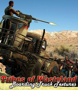 Tribes of Wasteland 2- Boarding Truck Textures