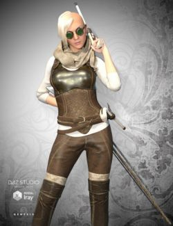 Victorian Huntress Steampunk Bundle