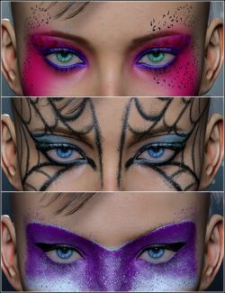Extreme Closeup: High Fashion Makeup for Genesis 3 Female(s)