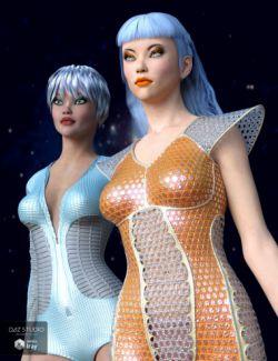 Sci-Fi Fabrics Iray Shaders