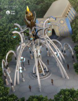 Atlantida Monument