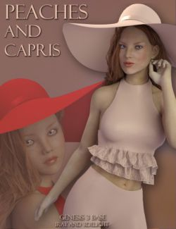 Peaches And Capris for Genesis 3 Female(s)