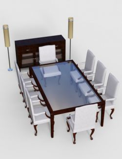 Furniture Set 5: Classy Dining Furnitures