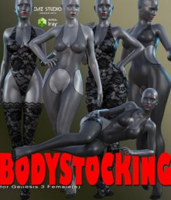Bodystocking for Genesis 3 Female(s)