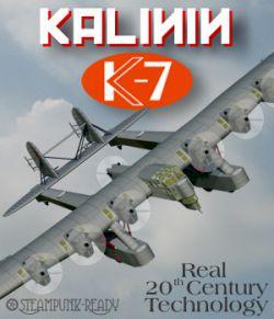 Kalinin K-7 Experimental Aircraft
