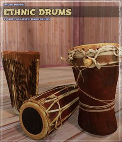 Photo Props: Ethnic Drums