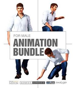 Suave Animation Bundle for Genesis Male Characters
