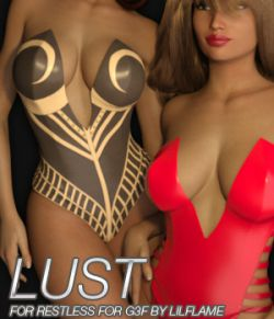 LUST - Restless for Genesis 3 Females