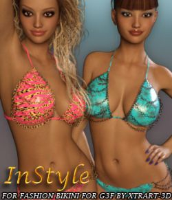 InStyle- Fashion Bikini for Genesis 3 Female