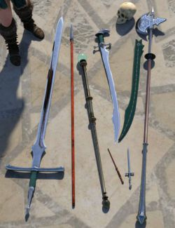 Mage Weapons