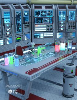 Sci-fi Lab Props