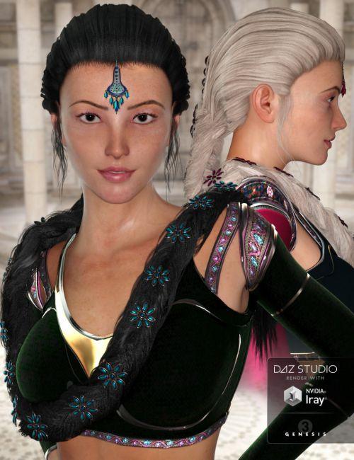 NeoIndia Braid for Genesis 2 Female(s) and Genesis 3 Female(s)