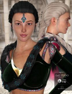 NeoIndia Braid for Genesis 2 Female(s) and Genesis 3 Female(s)