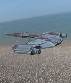 Zerius Spaceship (for Poser)