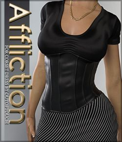 Affliction for Corset Dress G3F