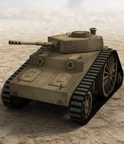 SciFi Steam Tank