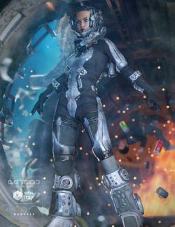 EXO Suit for Genesis 3 Female(s)