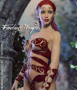 Fantasy Wraps for Genesis 3 Female(s)