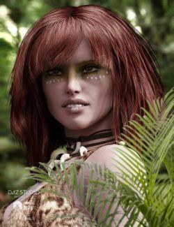 Apple Hair for Genesis and Genesis 2 Female(s)