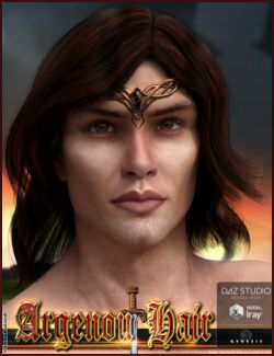 Argenou Hair for Genesis 3 Male(s)