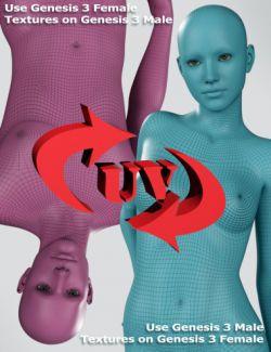 Genesis 3 UV Swap: Male and Female Base
